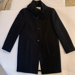 Kate Spade bow collar wool coat